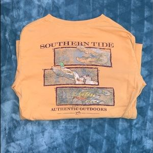 Southern Tide Outdoors Long Sleeve Shirt